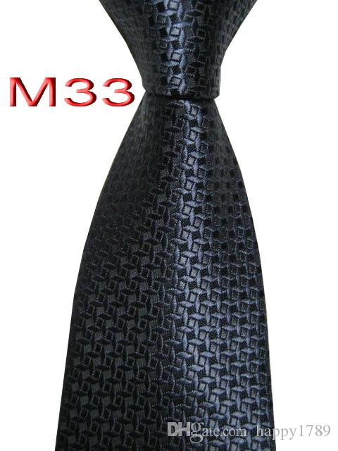M33 # 100% JACQUARD WOVEN HANDMADE MENS TIE NECKTIE320