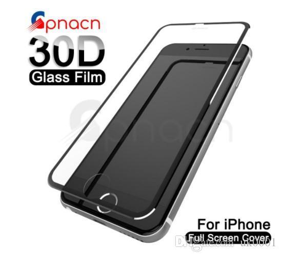 UK 9D Aluminiumlegierung gehärtetes Glas für iPhone 6 6s 7 8 Plus Displayschutzfolie für iPhone X XR XS Max Schutzglas für iphone 11