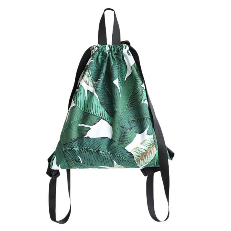 Новая мода Рюкзак Печать Путешествия Softback Человек Женщины Harajuku Drawstring сумка Mens Canvas Drawstring рюкзак Оптовая # LR4