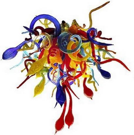 110 / 220V AC Art Led Chihuly Cuerpo de iluminación de la sala decorativo de cristal de Murano Cocina Moderna
