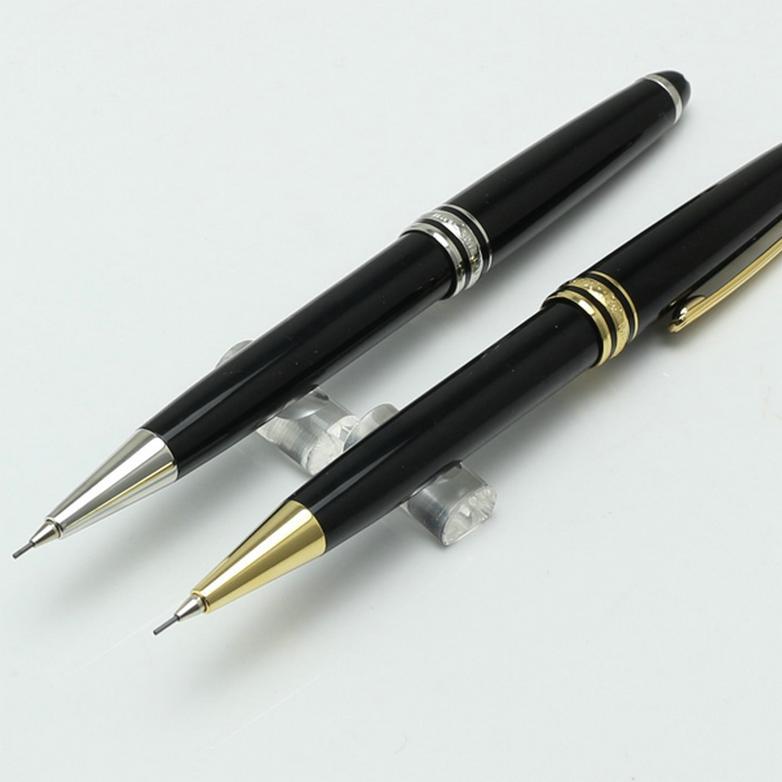 Limitierte Auflage Stift Classique MST MST MECHANISCHES Bleistift 0.7mm Gold- und Silber-Clip-Stift stationäre Lieferungen