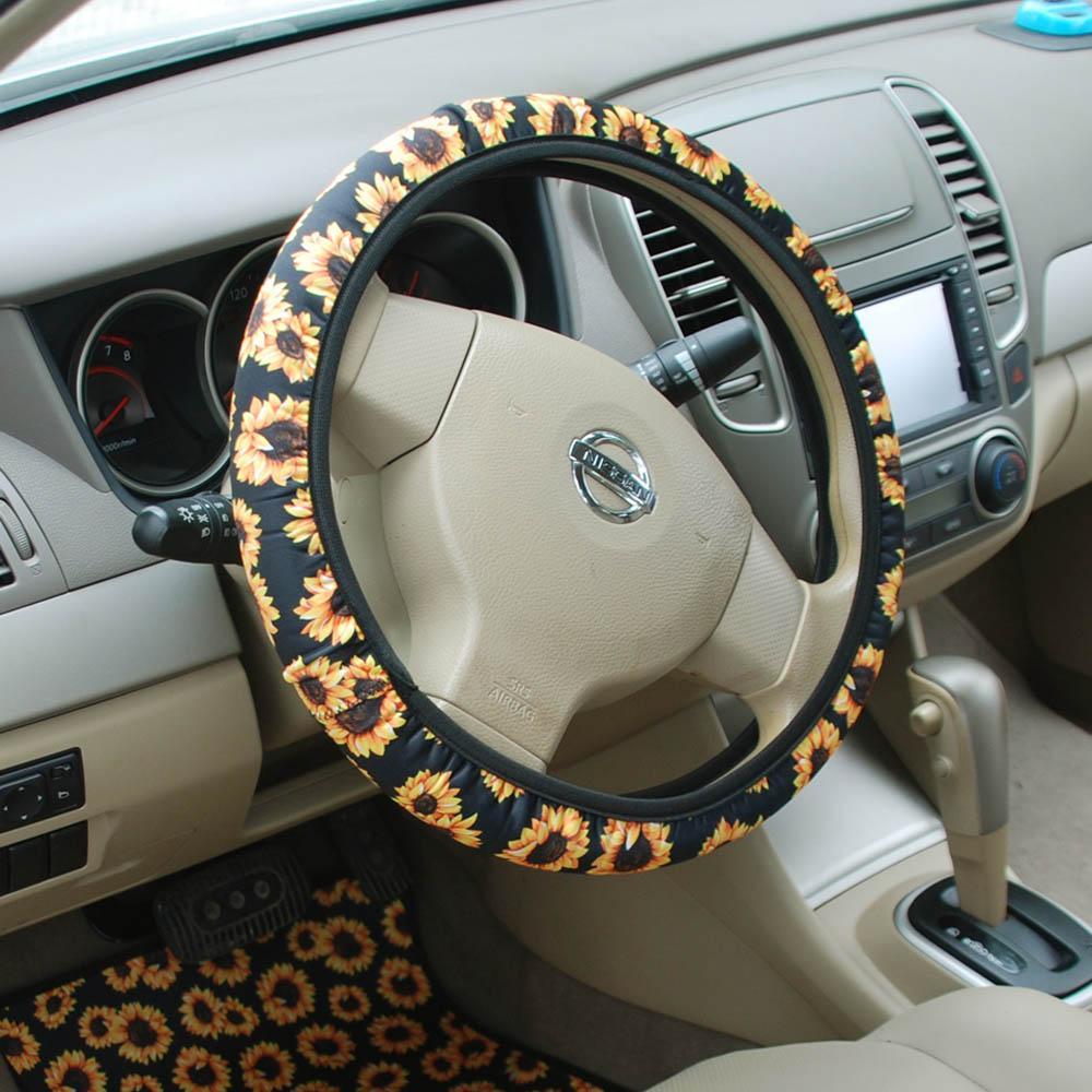 Prime 2019 Neoprene Sunflower Steering Wheel Cover Wholesale Blanks Flower Car Wheel Steering Wraps Leopard Steering Wheel Holder Dom604 From Andrewgaddart Wooden Chair Designs For Living Room Andrewgaddartcom