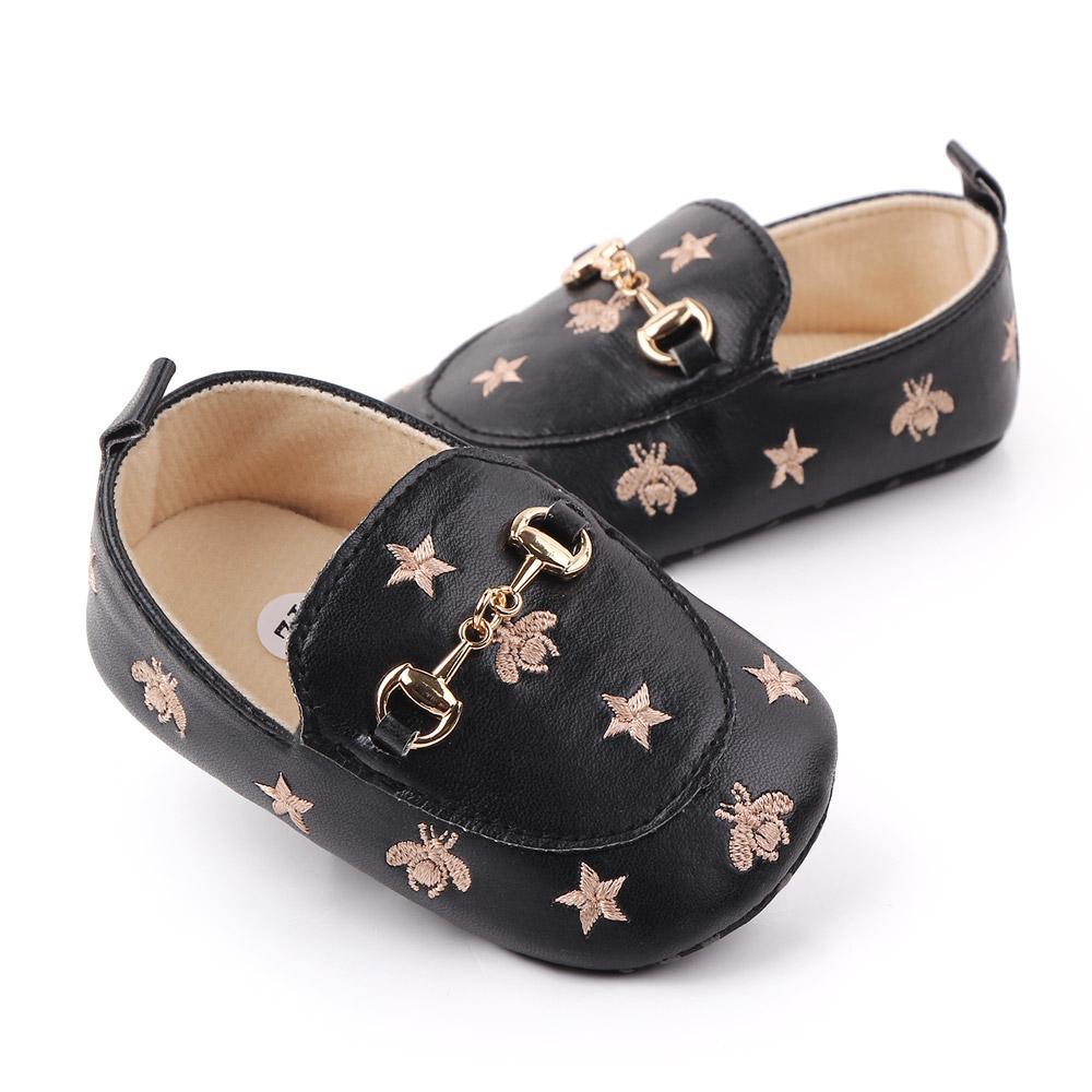 0-18Monate Sohle Weiche Bienen Neugeborene Baby Casual Baby Schuhe Wanderer Junge erste Schuhe Infant Vthkb