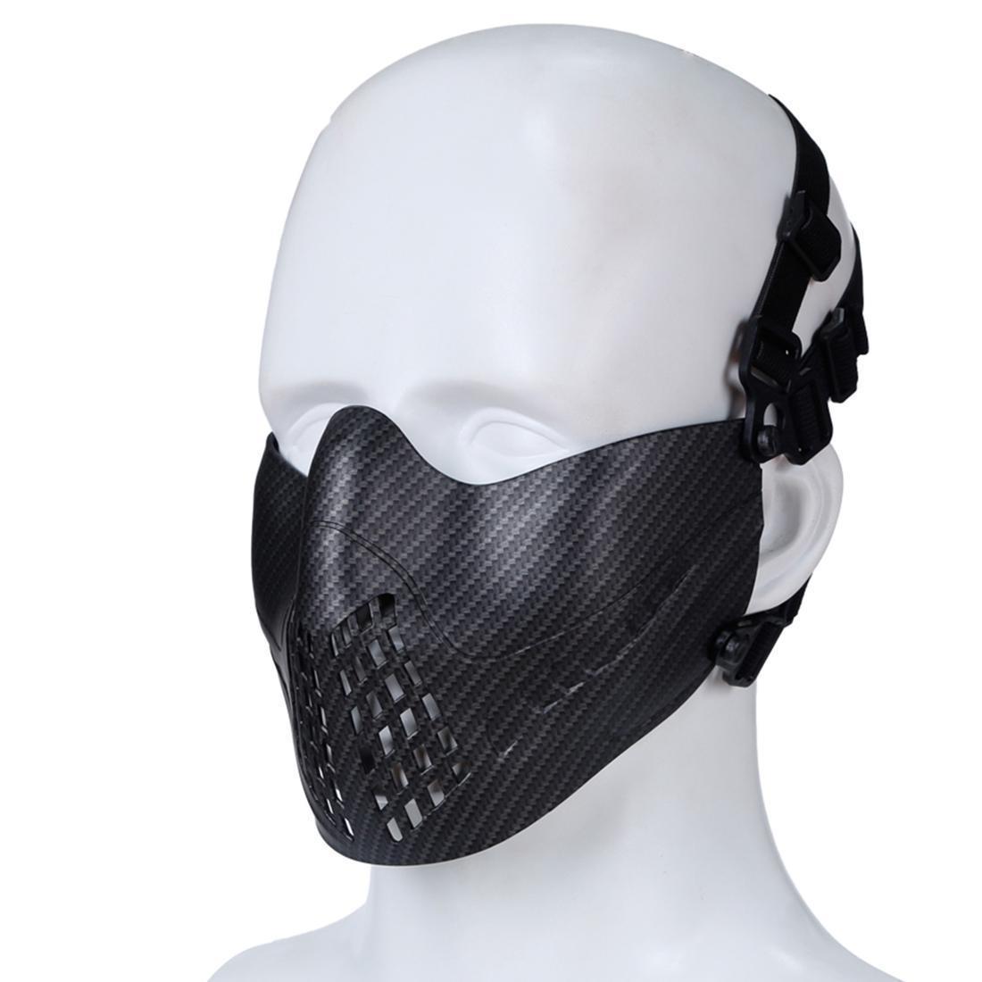 Nuovo trasporto libero WST Navigator Tactics Camouflage Protezione maschera viso Guard per Halloween attività all'aperto