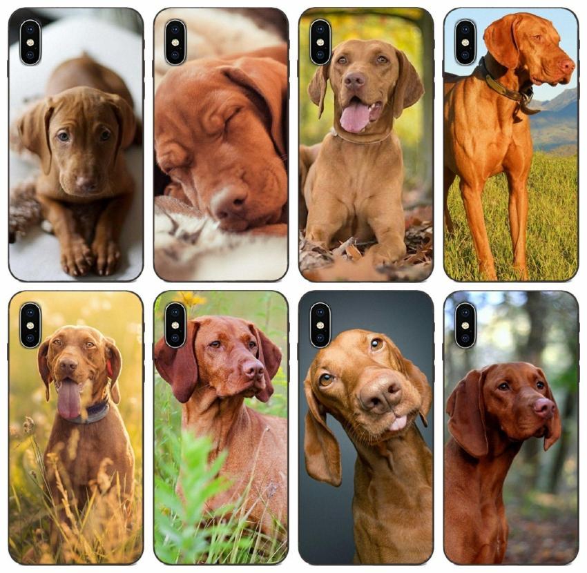 [TongTrade] Vizsla Dog Art Case For iPhone 12 11 Pro X Xr Xs Max 8 7 6 5 Case Samsung A90 A9S Alpha G850 Huawei Nova 5 Pro Sony Xperia Z2