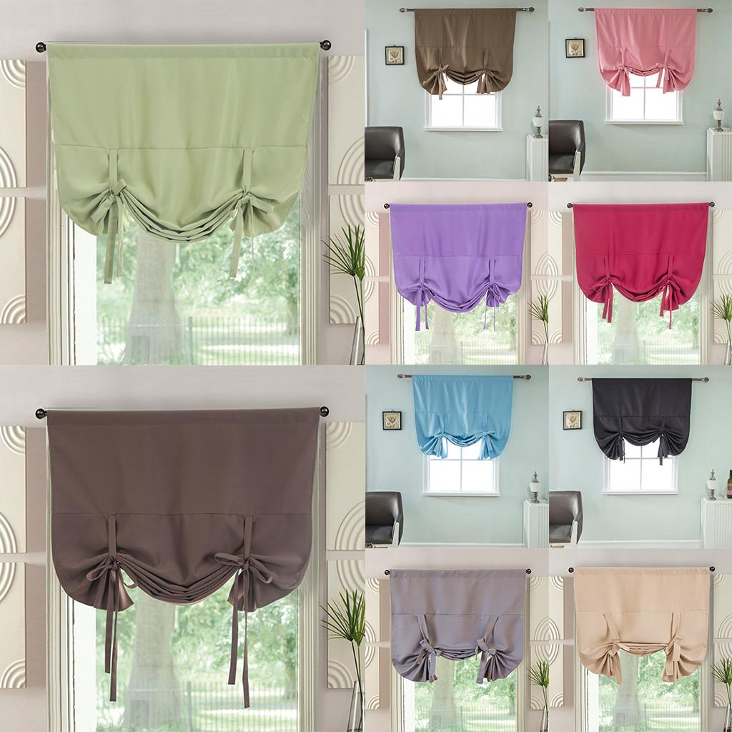 2020 Thermal Insulated Roman Curtains Small Window Shade Panels Blackout Tie Up Shade Curtain Rod Pocket Curtain Panel For Home Cafe From Narciss 18 12 Dhgate Com,Light Chocolate Brown Hair Color With Caramel Highlights