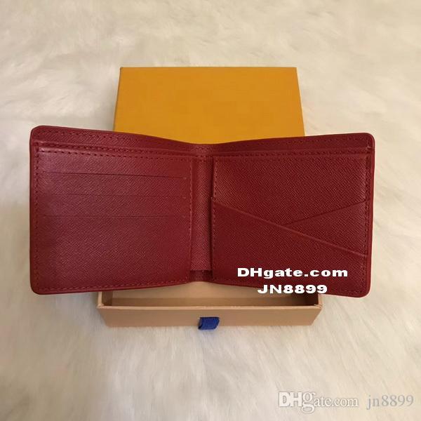 Wallet Sale New Hot Card Fashion Men European Material Wallets Multi-card Open PU Purses Purse Style Auggc