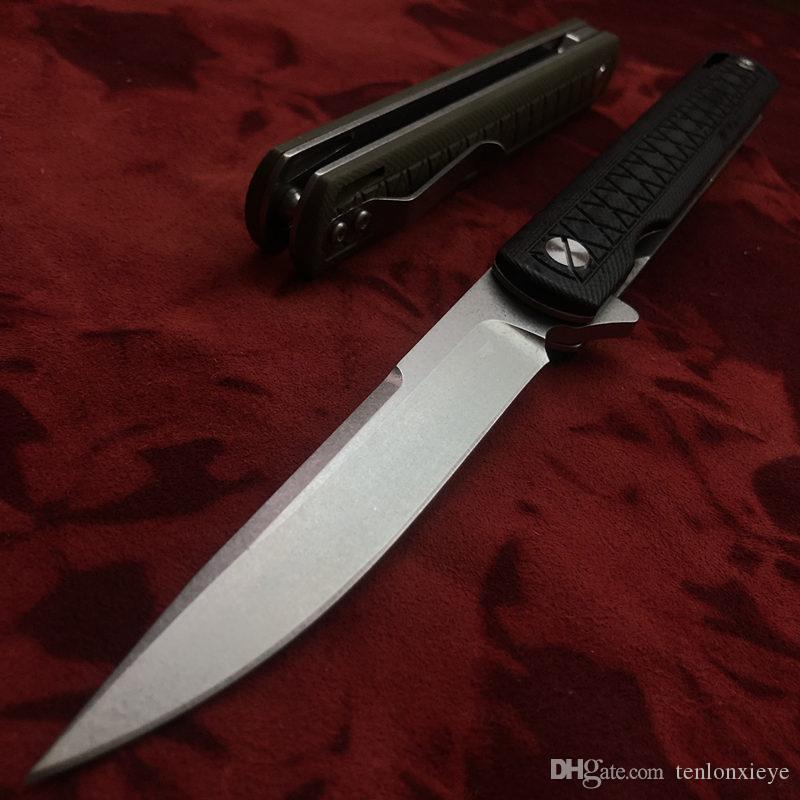 최고 품질 D2 블레이드 G10 핸들 새로운 컬렉션 나이프 단검 TACTICAL HUNTING TANTO Kwaiken 캠핑 나이프 포켓 구조 칼