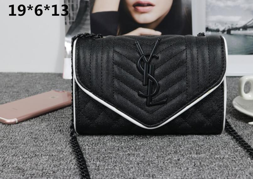 Nouveau cuir Sacs à main Mode féminine chaîne Sac Lady Sac bandoulière Femme épaule Messenger Bag