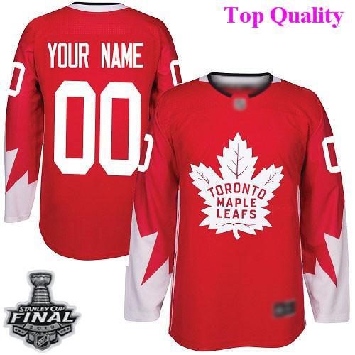 online store f92a7 3f56f 2019 Custom Nhl Jerseys Toronto Maple Leafs Auston Matthews 2019 Stanley  Cup Maillot De Team Canada Usa Goalie Cut Hockey Jersey 4XL 5XL 6XL From ...