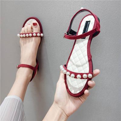 Net Red Sandals Fairy Fairy 2020 Summer