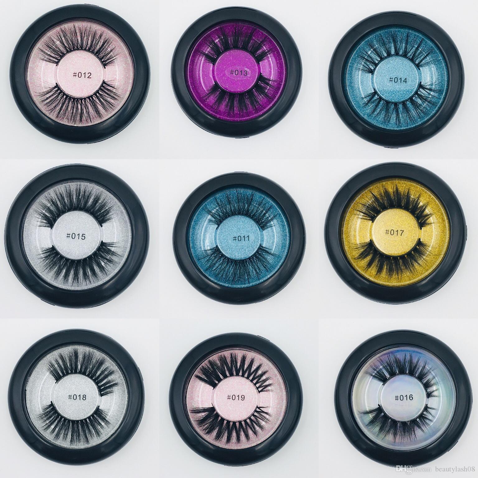 False eyelashes makeup natural long 3d mink real-like lashes fake eye lashes makeup beauty lashes