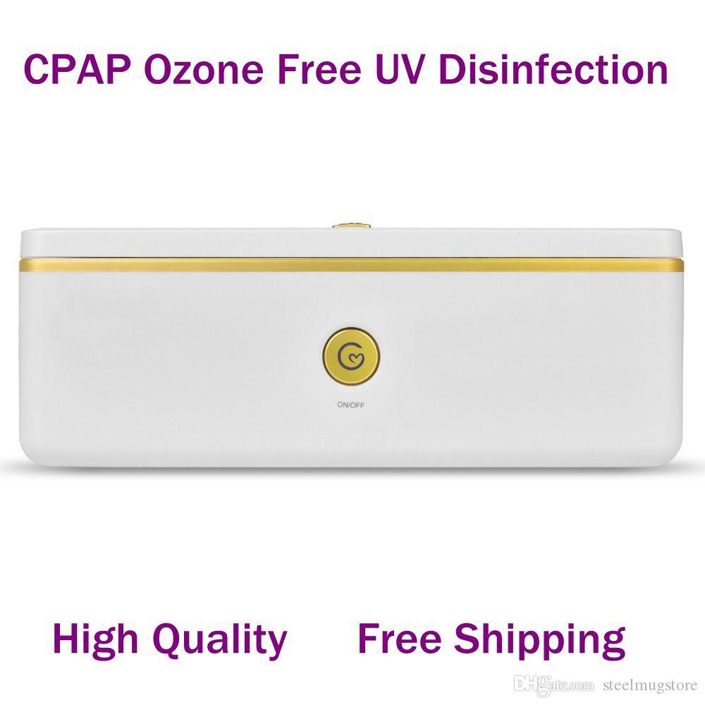 MOYEAH CPAP Aksesuar Temizleyici ve Dezenfektanı Ozon Ücretsiz UV Dezenfekte Maske ve Nemlendirici 5 Dakika içinde DHL Ücretsiz Teslimat