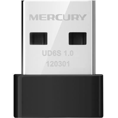 Mercurio Ud6s doble frecuencia USB inalámbrico Adaptador de red WiFi receptor y transmisor de escritorio del ordenador portátil por 650 M