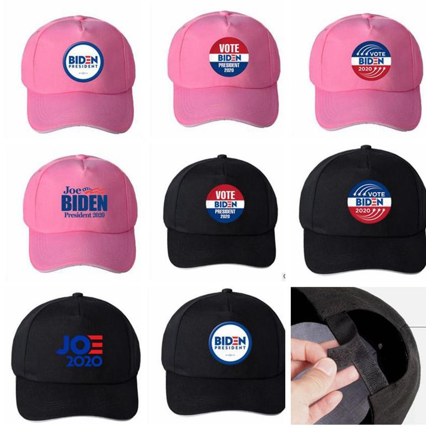 Joe Biden 2020 sombrero de voto del presidente de la tapa de Biden 2020 Presidente ajustable 2.020 camioneros gorra unisex Impreso LJJK2202 sombrero de fiesta