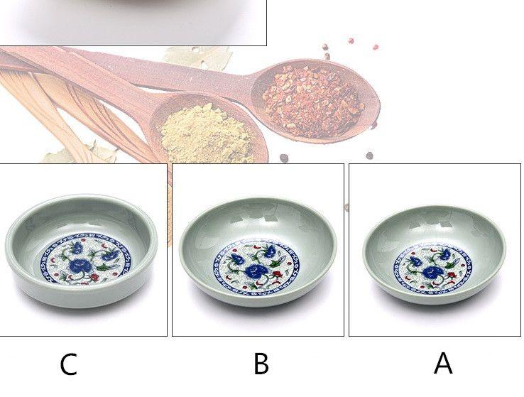 Небольшие тарелки для закусок Японские суши Приправа Приправа Соевый соус Соус чили Кетчуп Тарелка cyq023