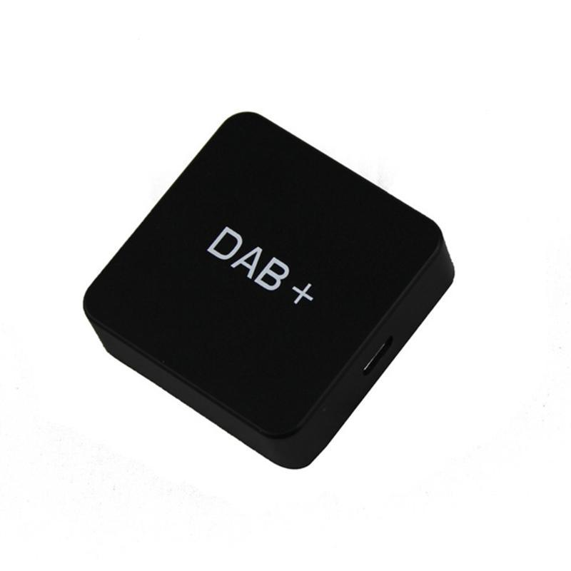 DAB Durable Player Digital Radio Mini Car Use Accessories Amplified Receiver Box USB Portable Audio Adapter DVD External