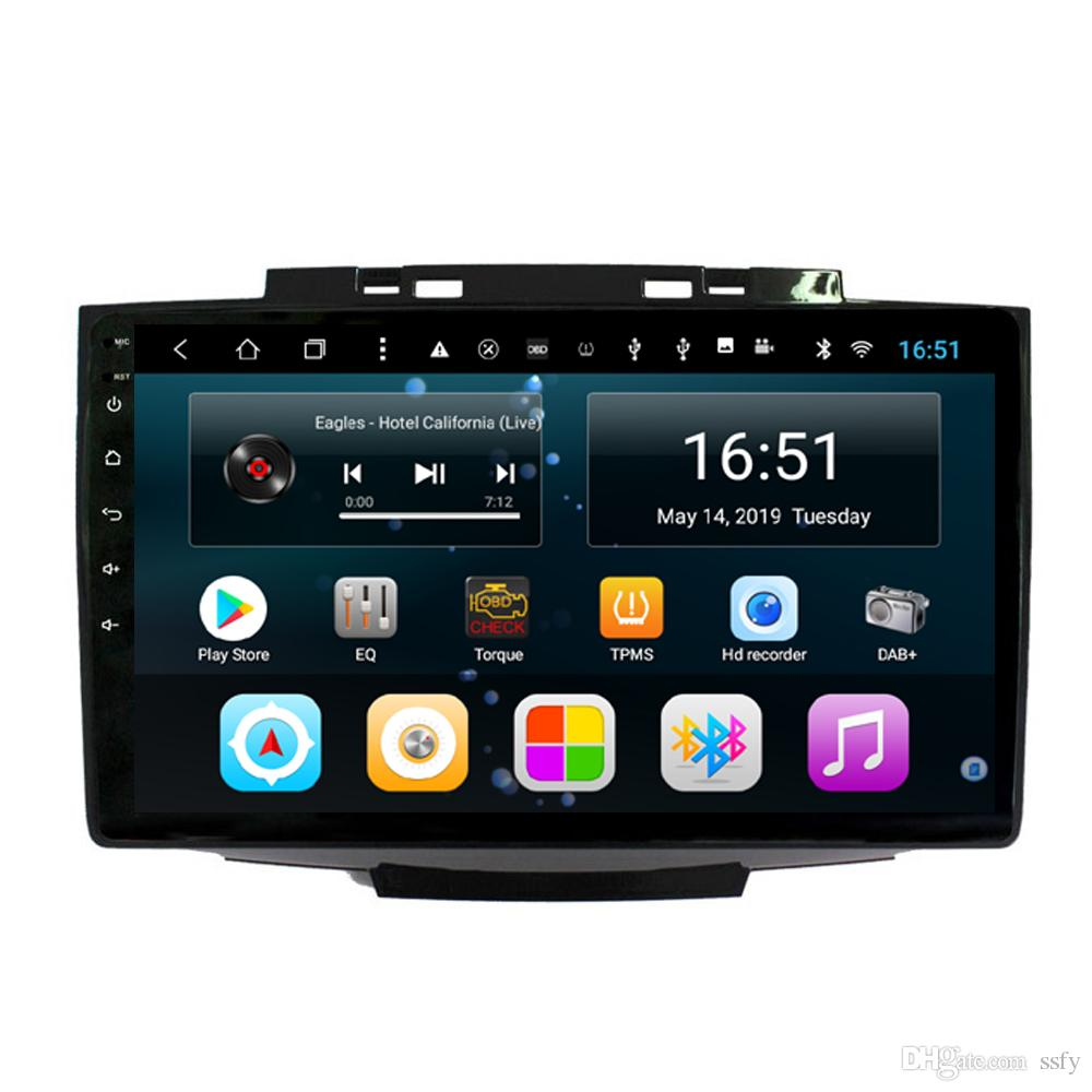 Android car player with GPS Resolution HD 1024*600 radio AM FM bluetooth microphone fast delivery for Great Wall H3 H5 2013 10.1inch