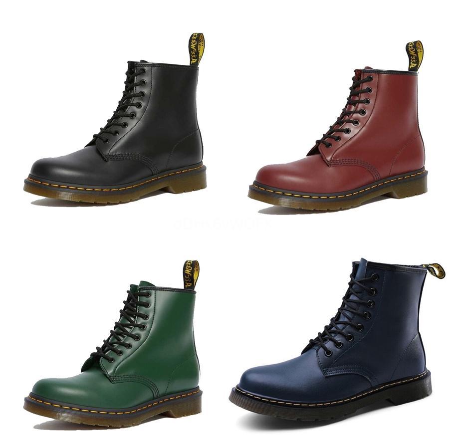 El nuevo diseñador de lujo de la llegada hombres de las mujeres botas de camuflaje La mitad de arranque para hombre de la nieve del invierno botas de agua Plataforma botines 36-46 # 865