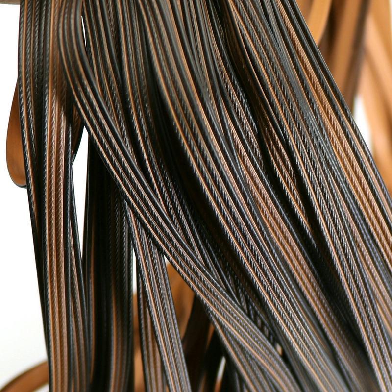 500 جرام القهوة التدرج أربعة خطوط تقليد شقة الروطان الاصطناعية النسيج المواد الخام pe الروطان للقبض وإصلاح طاولة كرسي