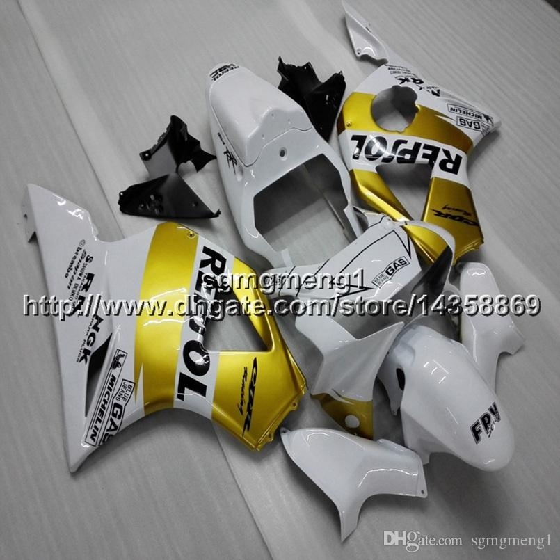 23colors+Screws repsol gold motorcycle panels for HONDA CBR954RR 2002 2003 CBR 954 RR 02 03 ABS motor Fairing