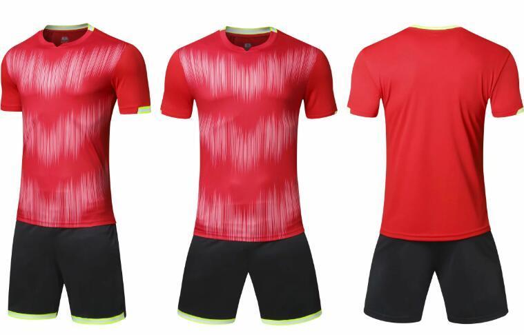 Cheap sports Customized Soccer Team Soccer Jerseys With Shorts 2020 men Training Jersey Short Custom Jerseys Shorts football uniform yakuda