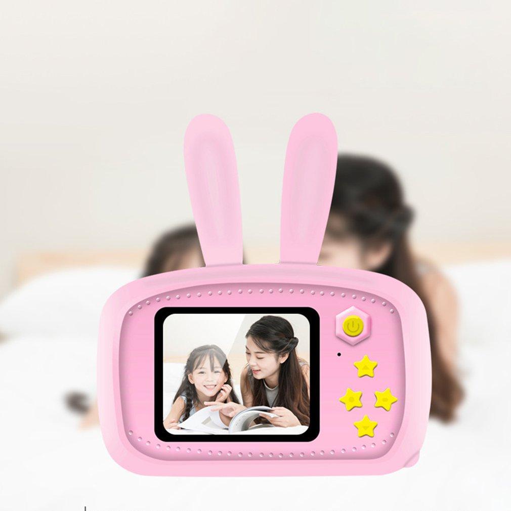 Children Mini Camera Portable Digital Video Photo Camera Toy Kids Cartoon Mini Fun Cute Kid Game Study Camera