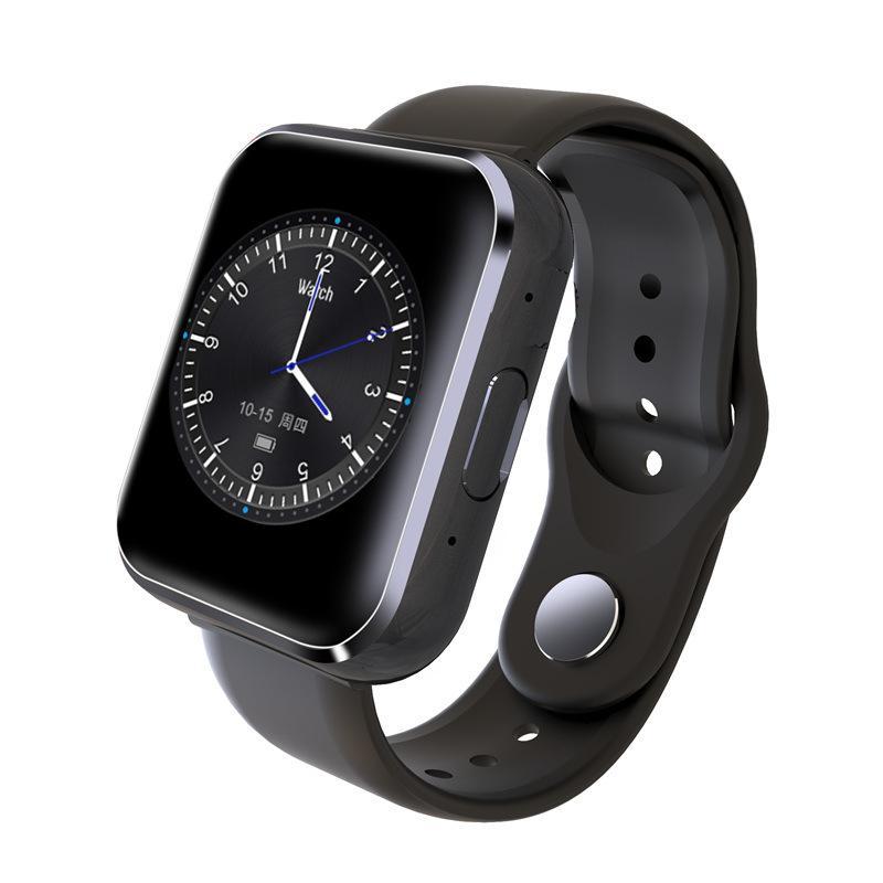 Reloj elegante reloj de manera SIM tarjeta multifunción de alta definición llamada pantalla táctil del sueño Monitoreo de pulsera inteligente de calorías