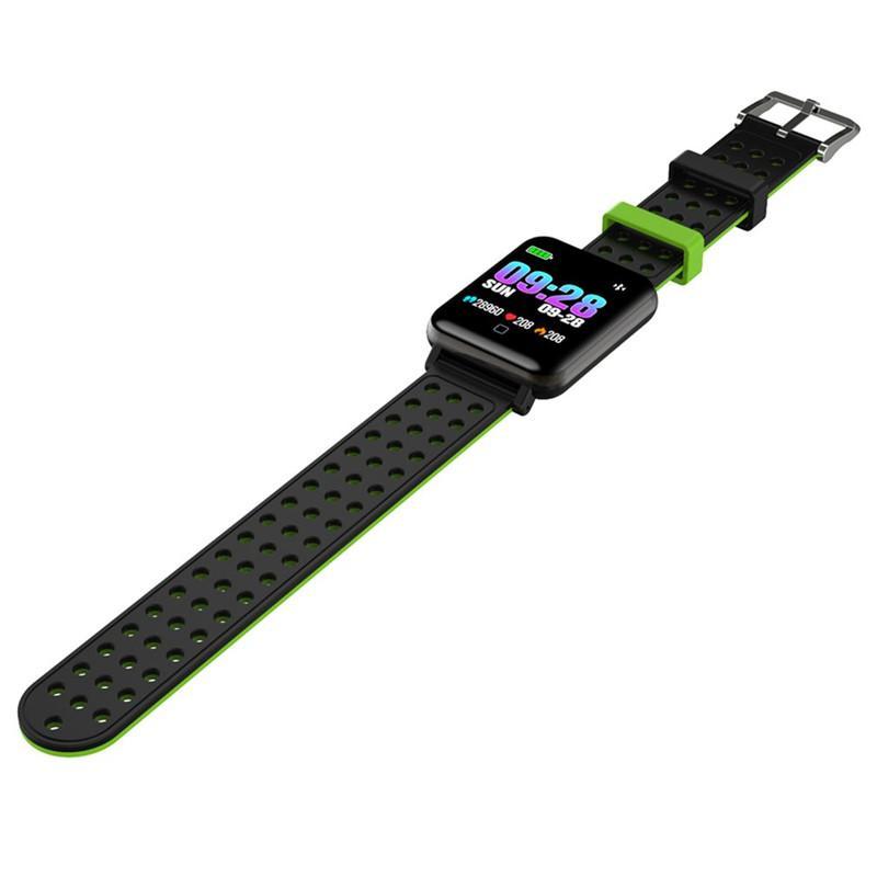 M19 Smart-Armband Fitness Tracker Blut-Sauerstoff-Blutdruck-Puls-Monitor-Smart Watch wasserdichte Sport-Armbanduhr für iOS Android