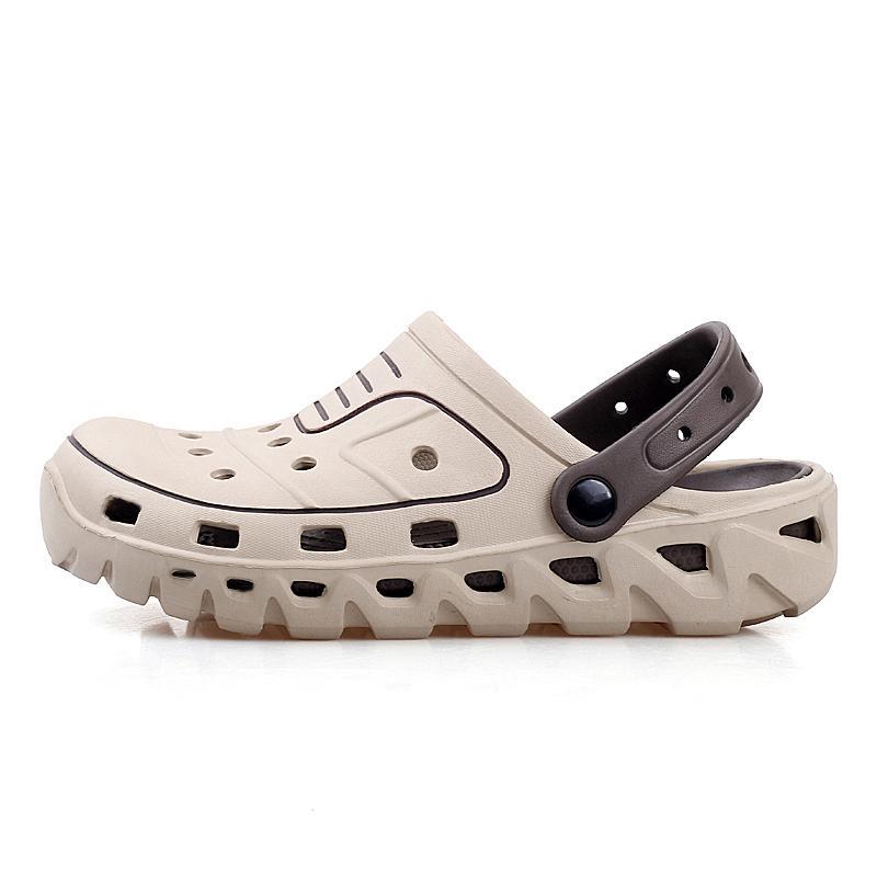 Yaz Su Erkekler Hollow Aqua Ayakkabı Yüzme Işık Terlik Barefoot Ayakkabı 2019 Erkekler Takunyalar Plaj Deniz Balıkçılık Sandalet Man Ayakkabı
