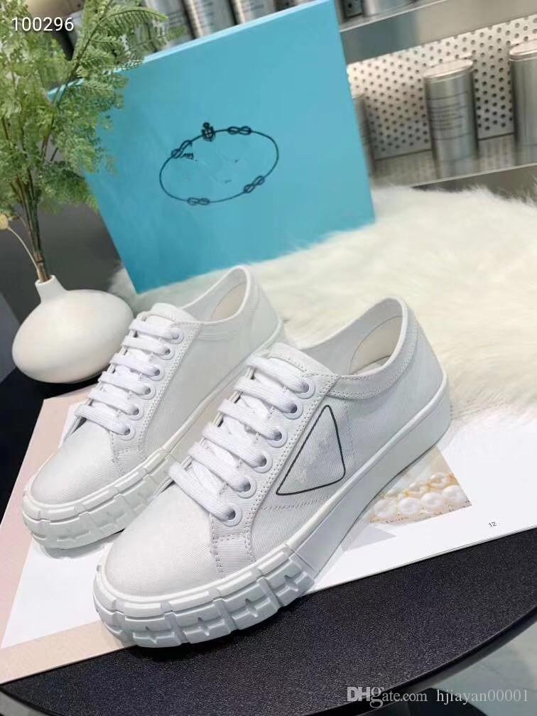 Alta calidad libre plataforma de los zapatos ocasionales de las zapatillas de deporte de Desinger hombres de las mujeres del cuero de zapatos del cuero de zapatos atlético gd191221 Sport Negro brillo