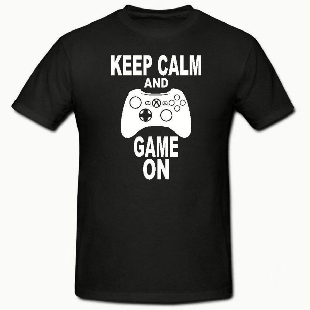 Keep Calm and Game On Short Gaming Pyjamas