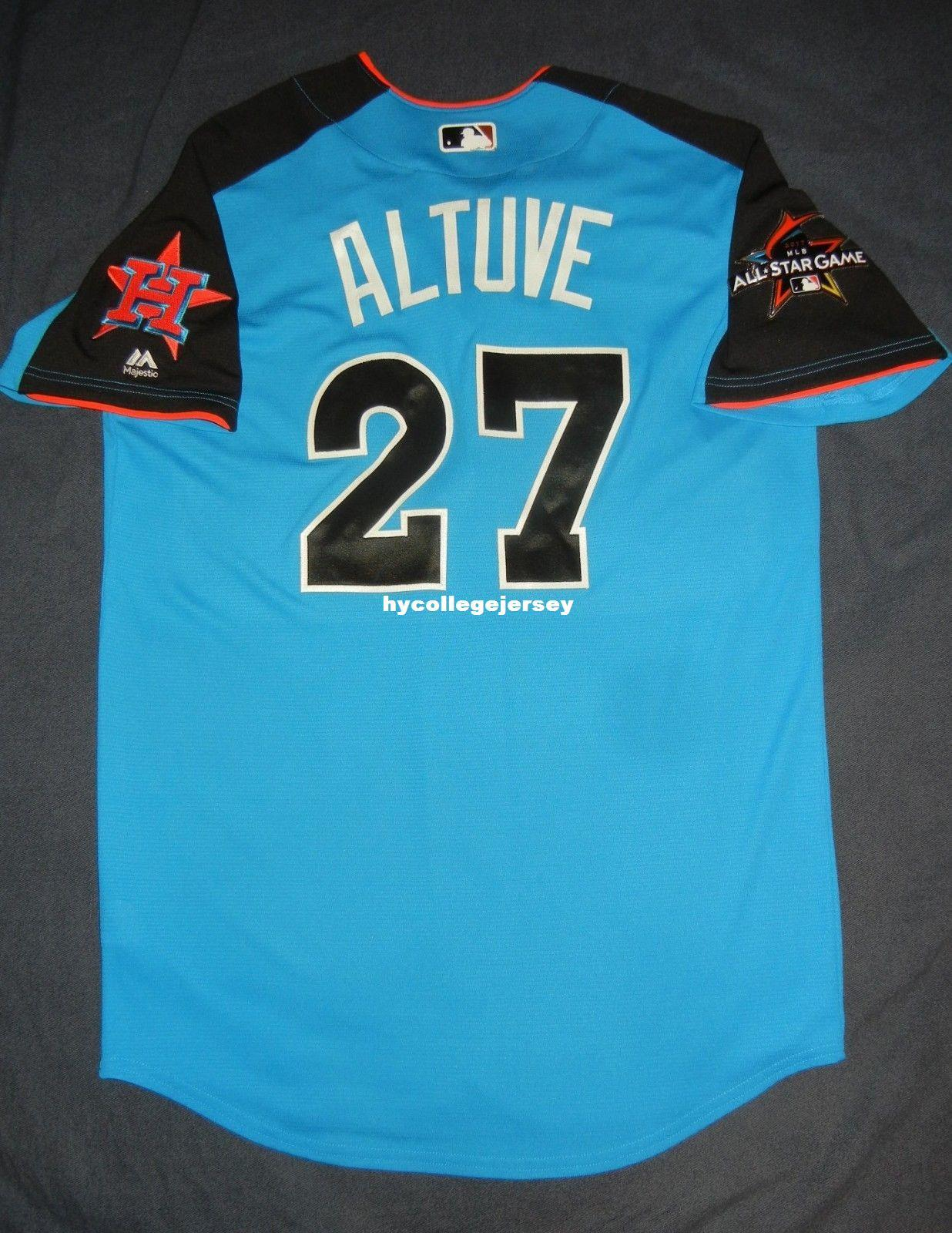 size 40 c3fec 4b1e8 2018 Cheap Retro #27 JOSE ALTUVE 2017 Top American League All Star Houston  Jersey 44 L Mens Stitched Shirt Jerseys From Hycollegejersey, &Price; | ...