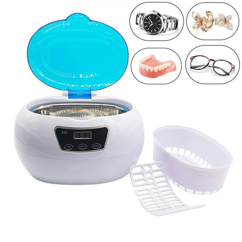 Ультразвуковой очиститель лака для ногтей Автоклавы Стерилизатор Бак Оборудование для салонов красоты Инструменты, малошумная стиральная машина с установкой времени