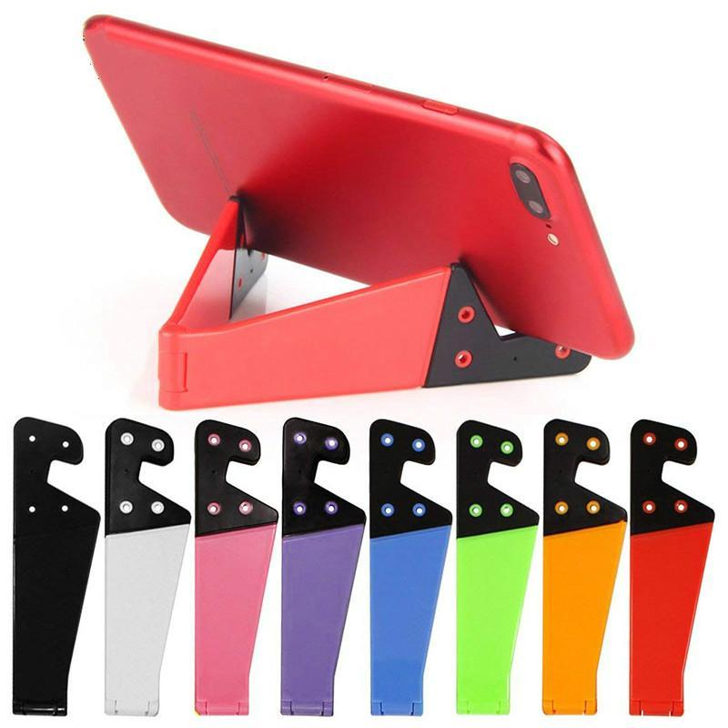 아이폰 X 태블릿 삼성 S10 조절 모바일 스마트 폰 홀더 스탠드에 대한 LOT 전화 홀더 접이식 핸드폰 지원 스탠드