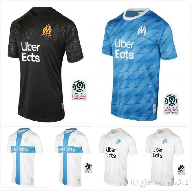 2020 Man Kids Kit 19 20 Olympique De Marseille Soccer Jersey 120th