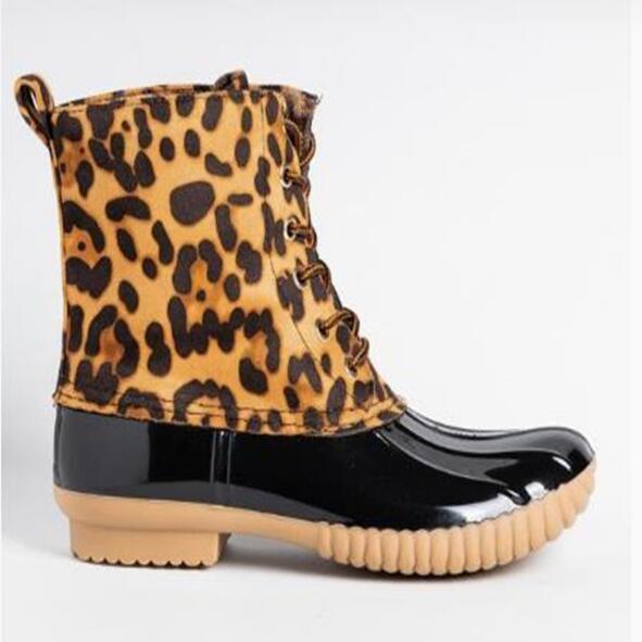 New Woman Slip Duck Boots Unisex Women
