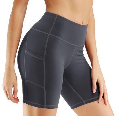 Womenswear Yoga Pants Designer en cours poches latérales respirant Shorts Pantalon serré stretch Quick Dry Trackpants Tonique Leggings gros