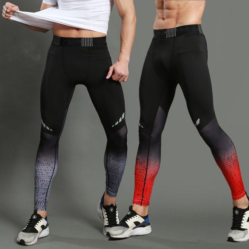 Uomo marca di alta qualità dei pantaloni degli uomini fitness pantaloni casual HighElastic bodybuilding pantaloni della tuta abbigliamento casual jogging