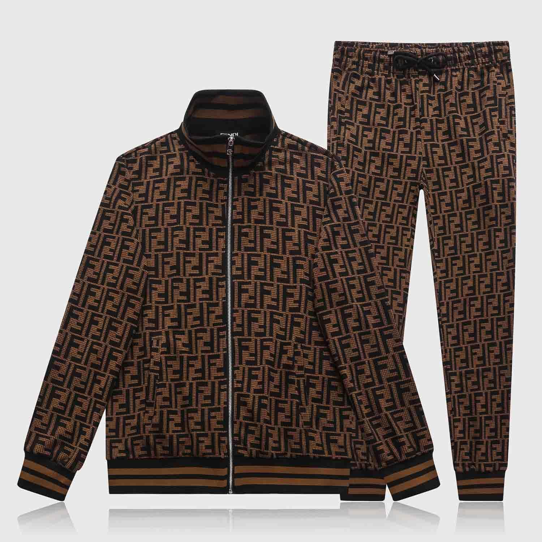 Completa Zipper Abbigliamento sportivo Moda Parigi New Medusa Sportswear Squisito Knit degli uomini di Khmer bellezza Duza sportivo Set