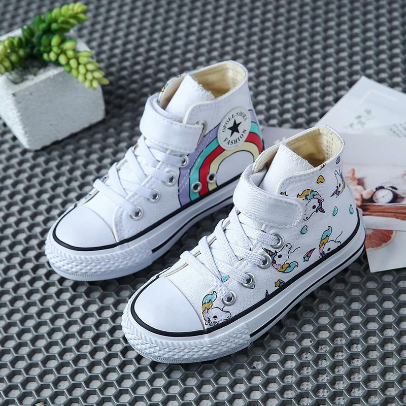 Mens Shoes Sneakers Childrens Pattern Cartoon Style Canvas Slip-on Casual Printing Comfortable Low Top Canvas Shoes for Boys
