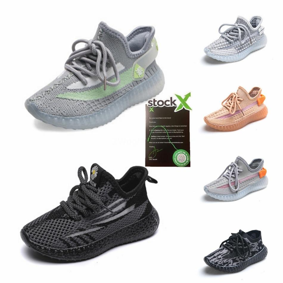 2020 Baby Kids V2 Running Shoe Children Shoes Clay Hyperspace True Form S Boy Girl Kanye West Beluga 2.0 Sneakers Toddler Trainer Chaussu #88