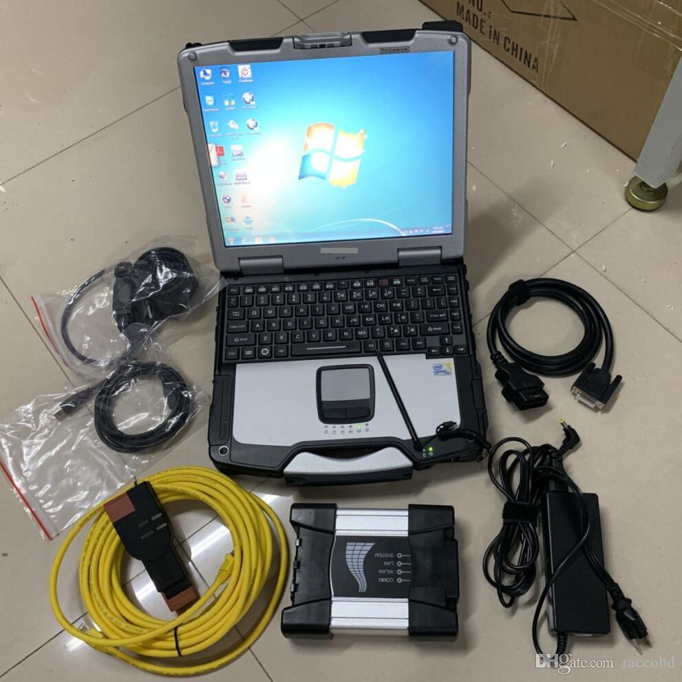 ICOM Avanti per BMW Diagnostic Tool Scanner Software con laptop CF30 Modalità esperto ISTA HDD 1000 GB Windows 10 Pronto all'uso