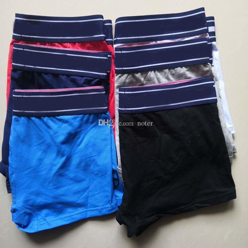 Sexy Famous New Herren-Unterwäsche Boxer Brief Shorts Vintage Männer Weinlese-Baumwoll Sexy Cueca Boxer Weiche erwachsener Mann Homosexuell Boxershorts