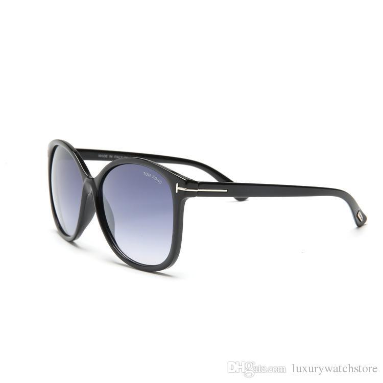 Luxe haut qualtiy Nouvelle Mode 0275 0339 Tom Lunettes De Soleil Pour Homme Femme Erika Lunettes ford Designer Marque SunGlasses avec boite originale 0400