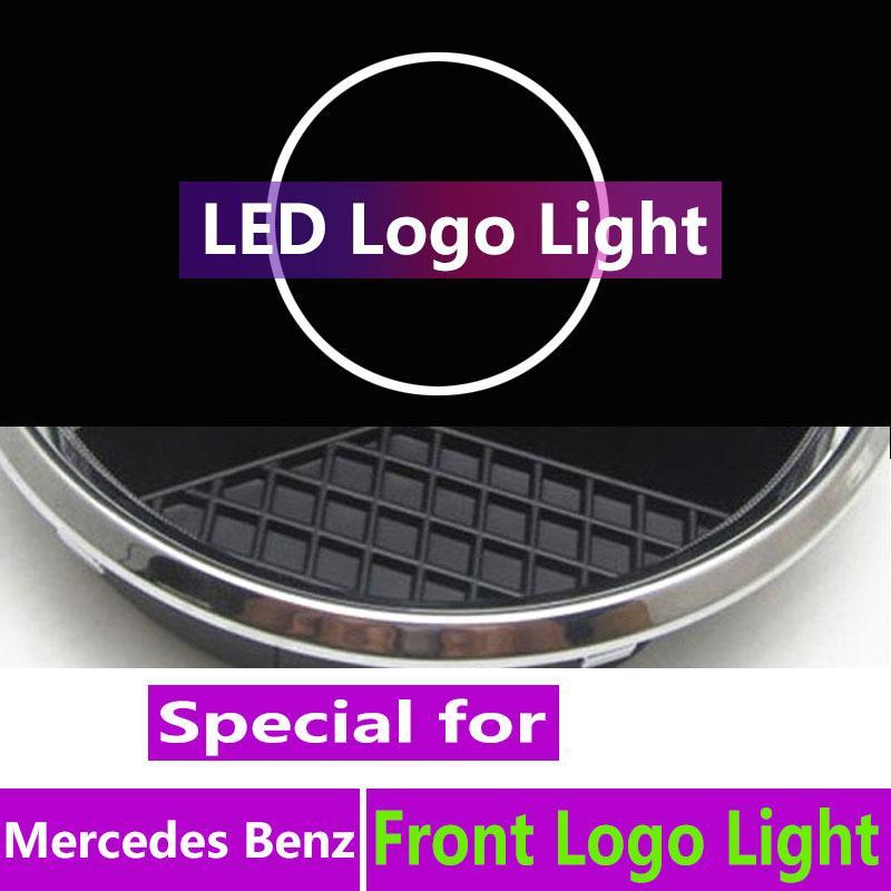 자동차 스타일링에 대한 전면 빛을 상징 그릴 빛 그릴 배지 전자 w212 C W205 CLS W218 CIA 요원 W117 액세서리를 주도