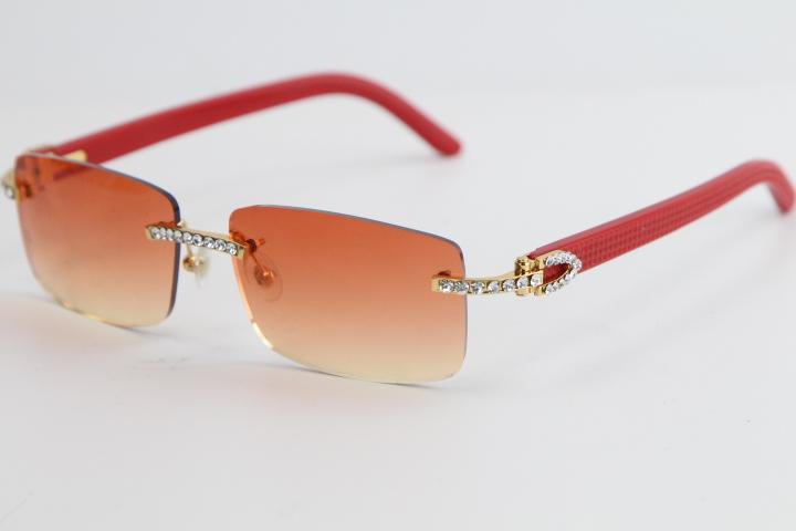 큰 돌 폭풍없는 빨간 판자 선글라스 8200757 패션 고품질 독특한 태양 안경 남성과 여성을 운전하기위한 최고의 선글라스