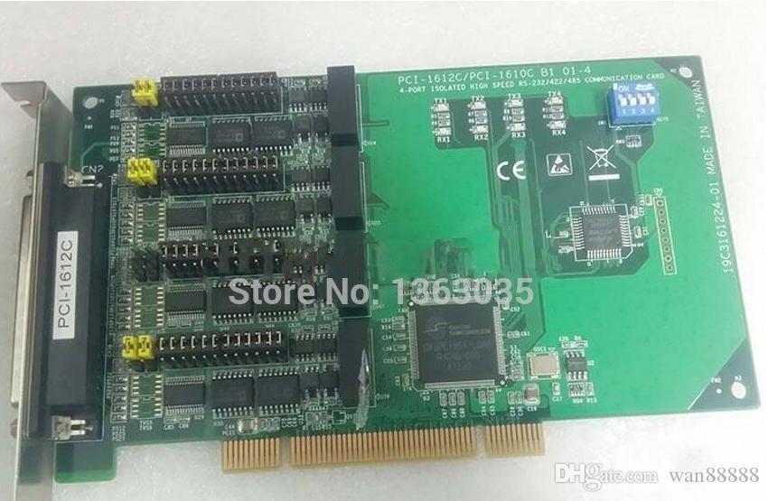 100% Probado obra perfecta para PCI-1612C / 1610C PCI-B1 PCI-1612C 19C3161224-01 tarjeta de Comunicación