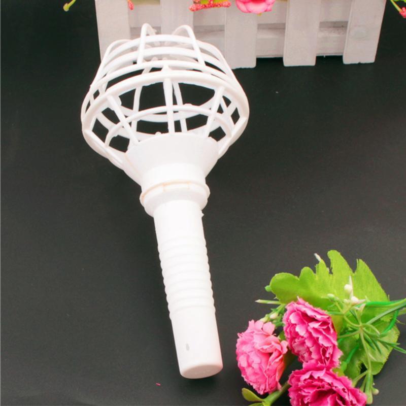 Handle Exquisite Festival Flower Handheld Party Florist Home Decoration Bridal Bouquet Holder Supplies Plastic Wedding