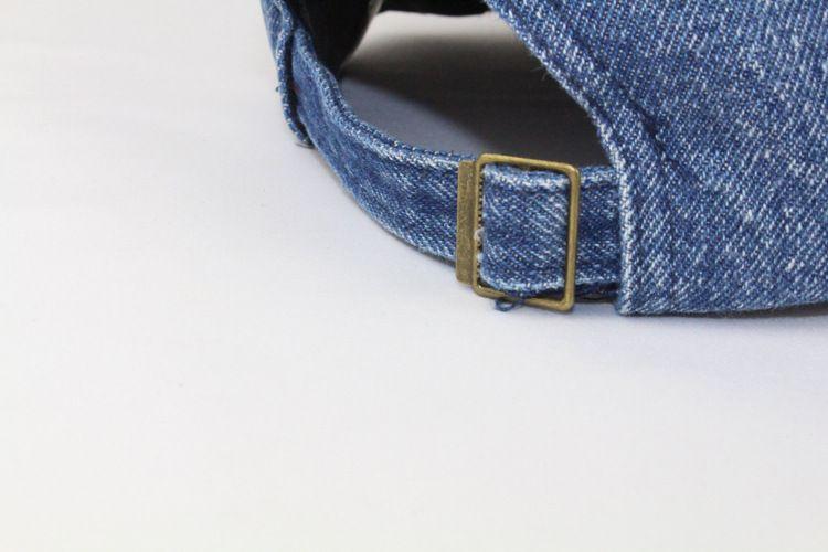 Unisex Cowboy Parenting Fall Casual Baseball Cap Snapback Dad Hat For Men Women Denim Jeans Hip Hop Wholesale